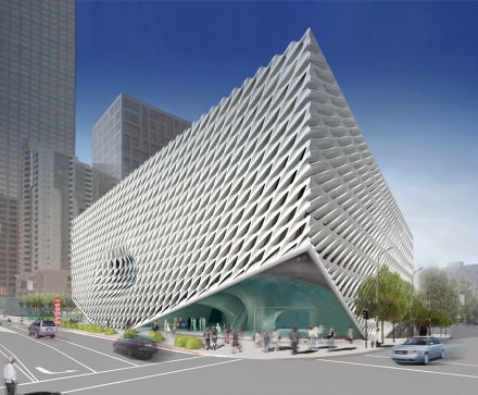 The Broad_exterior rendering